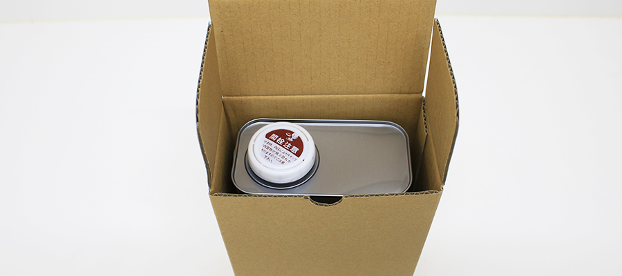 Carton box packaging for square cans