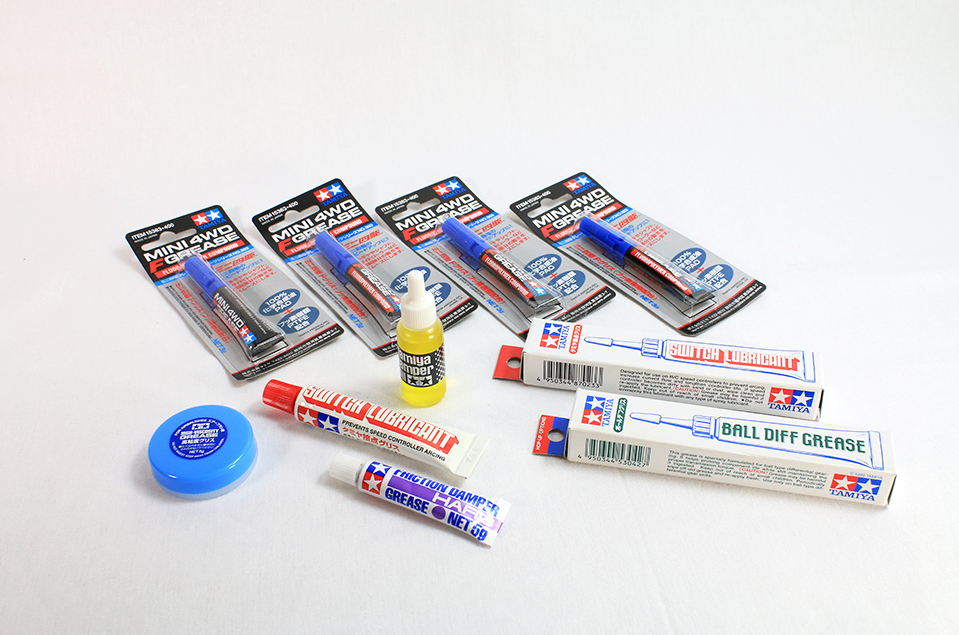 RC car grease 2g plastic tube,  3g aluminum tube with nozzle, 5g inner surface treatment tube, 10g aluminum tube
